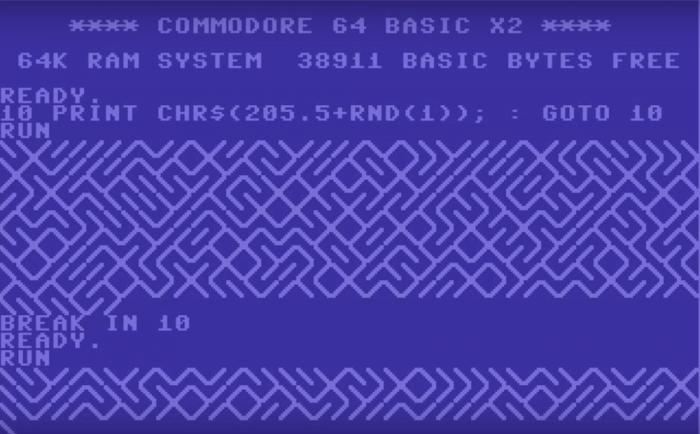 10-print-commodore-64
